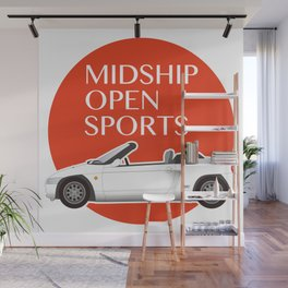 Midship Open Sports Wall Mural