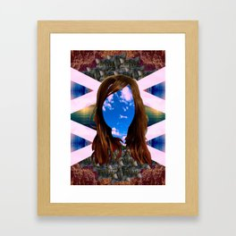 ELLEN PAGE. Framed Art Print