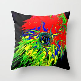 Jelly squish Throw Pillow