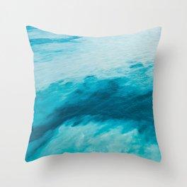 Bermuda Waters Throw Pillow