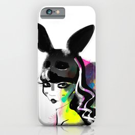 Bunny gone iPhone Case