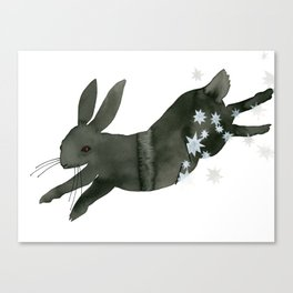 The Black Rabbit of Inlé Canvas Print