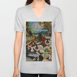 The Young Lady's Dream Unisex V-Neck