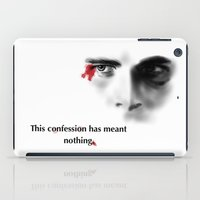 american psycho iPad Cases featuring Patrick Bateman (American Psycho) by glorya