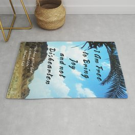 Bring Joy to Others Rug