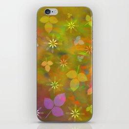 Spring flowers 02 iPhone Skin
