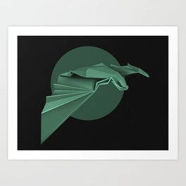 Chiroptera, bat, murciélago Art Print