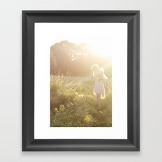 Meadow Fairy Framed Art Print