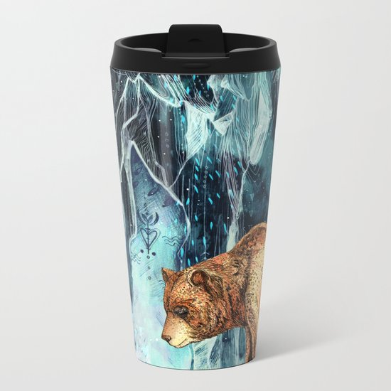 BearCave Metal Travel Mug