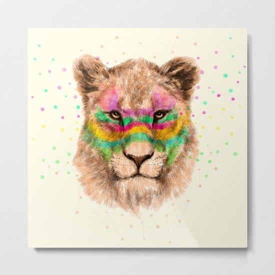 Lioness II Metal Print