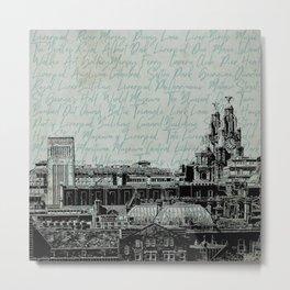 Liverpool Landmarks Metal Print