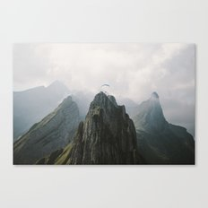 Flying Mountain Explorer - Landscape Photography Canvas Print