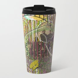 A Strict Code for Mourning Flowers (1) Metal Travel Mug