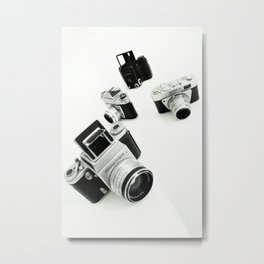 cameras Metal Print