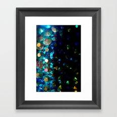 sparkle x fade Framed Art Print