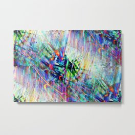 Color Crash Metal Print