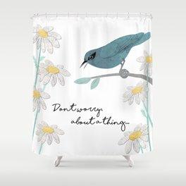 Three Little Birds, Part 1 Shower Curtain