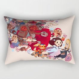 Goblin spiral Rectangular Pillow