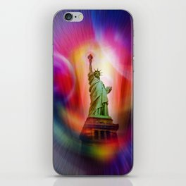 New York NYC - Statue of Liberty 2 iPhone Skin