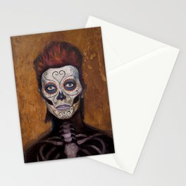 Bowie Day Of The Dead Stationery Cards