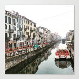 Milano Navigli - Italy Canvas Print