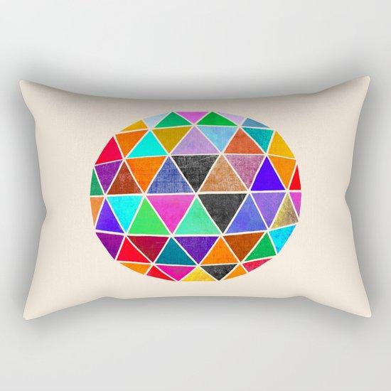 Geodesic 3 Rectangular Pillow