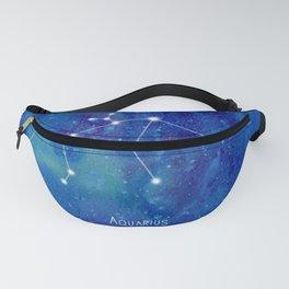 Constellation Aquarius Fanny Pack