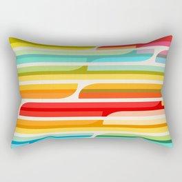 Test Tube Tune Rectangular Pillow