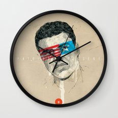 Superheroes SF Wall Clock