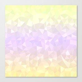 Pastel Ombre 3 Canvas Print