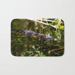 American Aligator Bath Mat