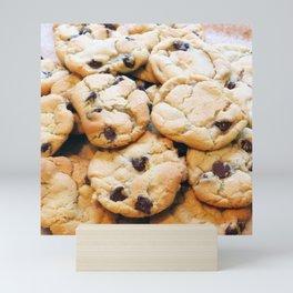 Chocolate Chip Cookies Mini Art Print