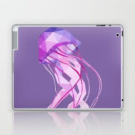 Low Poly Pelagia Noctiluca Jelly Fish. Laptop & iPad Skin