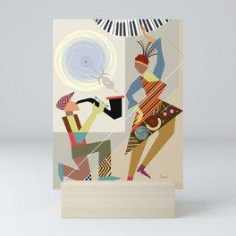 The Dance II Mini Art Print