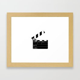 Action Framed Art Print