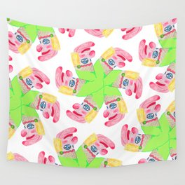 Punchy Colours Wall Tapestry