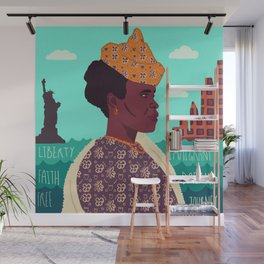 The New World, Immigration Wall Mural