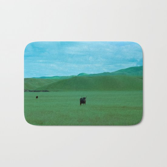 Keeping Distance Bath Mat
