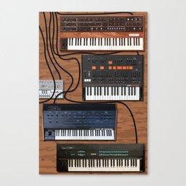 Musician's Tabletop Canvas Print
