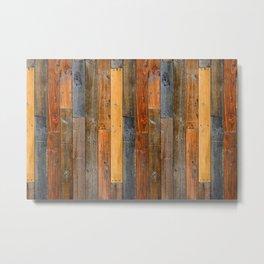 Jumbled Planks Metal Print