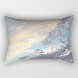 Sunset cloudy sky Rectangular Pillow