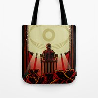 1984 Tote Bags featuring 1984 by miles to go