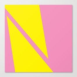 Pink Angles Canvas Print