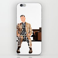 forrest gump iPhone & iPod Skins featuring Forrest Gump by Ayse Deniz
