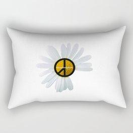 PEACE FLOWER Rectangular Pillow