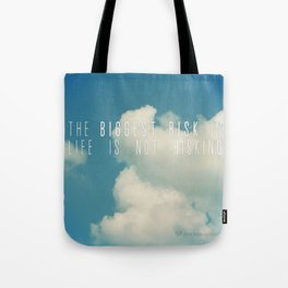 Risk Tote Bag