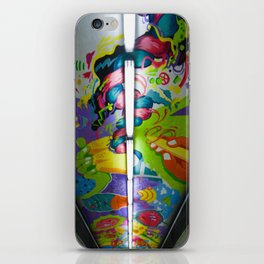 Art underpass iPhone Skin