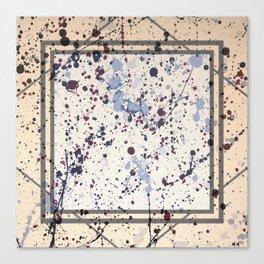 Attraction - square graphic Canvas Print