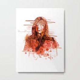 The Blacklist - Elizabeth Keen Metal Print