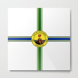 flag of little rock,arkansas Metal Print
